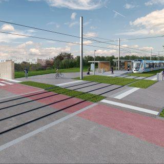 Station Ferme Neuve, Grigny © Vectuel