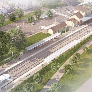La station La station Longjumeau (intentions d