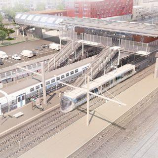 La station Massy-Palaiseau (intentions d