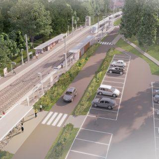 La station Petit Vaux (intentions d