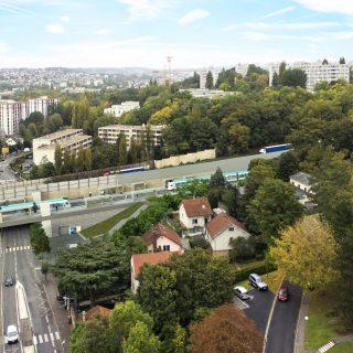 Station Parc du Château, Morsang-sur-Orge © Vectuel