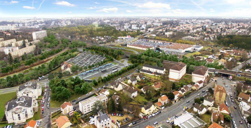 Le futur pôle multimodal d'Epinay-sur-Orge