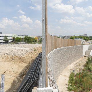 Rampes du pont de Grigny, juin 2020