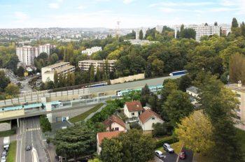 Les travaux au niveau de la RD77, à Morsang-sur-Orge (août-octobre 2020)