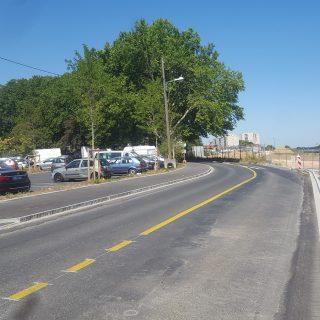 La rue de la Grande Borne, en juillet 2020