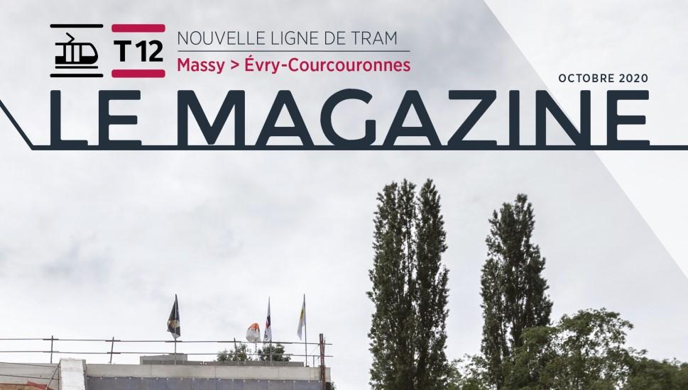 Le magazine n°3 du tram T12 est sorti !