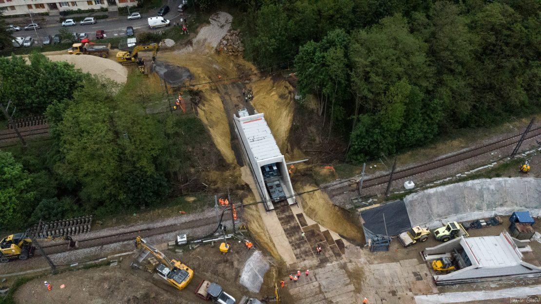 Construction de la liaison cyclo-piétonne entre Epinay-sur-Orge et le quartier de Grand Vaux à Savigny-sur-Orge