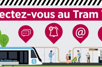 Connectez-vous au tram T12