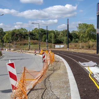 Aménagement des voies cyclo-piétonnes avenue Ambroise Croizat à Ris-Orangis