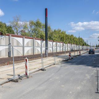 Aménagement des voies cyclo-piétonnes avenue des Pylônes à Viry-Chatillon